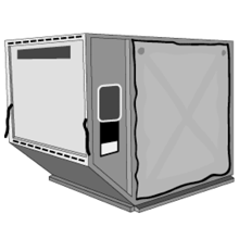 LD3/AKE/AVE Container