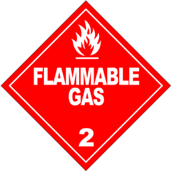 Division 2.1: Flammable gases