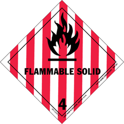 Division 4.1: Flammable solids