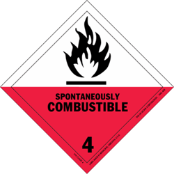Division 4.2: Substances liable to spontaneous combustion