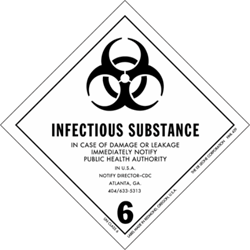 Division 6.2: Infectious substances